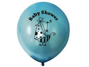 It's a Boy Baby Shower 30.48cm Latex Balloons-25/pk