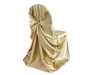 Universal Chair Covers (Satin) - CHAMPAGNE