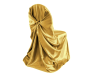 Universal Chair Covers (Satin) - GOLD