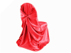 Universal Chair Covers (Satin) - RED