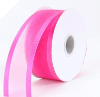 3.81cm Wired Satin Edged Organza - Fuchsia/Hot Pink