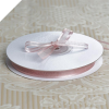 0.95cm Satin Edge Organza - Blush