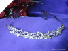 Rhinestone Wedding Tiara with comb