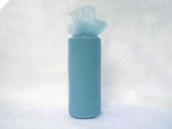 15.24cm x 22.86m Tulle Roll - Periwinkle