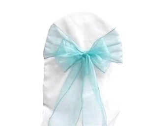Light Blue Chair Sash