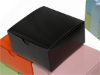 10 x 10 x 5cm Cake Box - Black -25pc