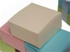 10 x 10 x 5cm Cake Box - Ivory -25pc