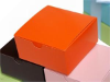 10 x 10 x 5cm Cake Box - Orange -25pc