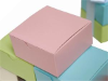 10 x 10 x 5cm Cake Box - Pink -25pc