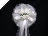 Silk Double Rose Bow