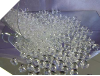 500gm Heart Scatters - Clear