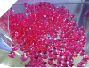 500gm Heart Scatters - Fuchsia