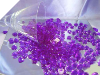500gm Heart Scatters - Purple