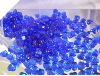 500gm Heart Scatters - Royal Blue