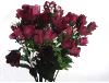 Mini Rose Buds - Burgundy 1-bunch