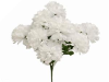 14 Chrysanthemum Mum Balls - White
