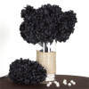 14 Chrysanthemum Mum Balls - Black