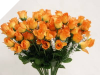 Mini Rose Buds - Orange 1-bunch
