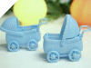 Baby Carriage-Blue-12/pk