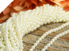 6mm Pearls - Ivory