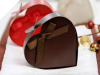 Chocolate Heart Favour Box- 100pc