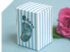 Baby Shower Favour Box Blue -10 Pack