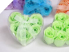 Heart Rose Soap Petals-Apple Green