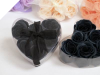 Heart Rose Soap Petals-Black