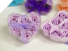 Heart Rose Soap Petals-Lavender