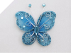 Bewitching Butterfly - Turquoise
