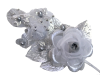 Headpiece-Silver-1/pk