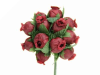 Rose Bud-Burgundy.144/pk