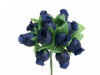 Rose Bud-Navy Blue.144/pk
