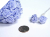 Ribbon Roses-Baby Blue.144/pk