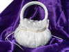 Summer Lace Flower Girl Basket - Ivory