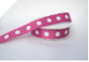 2.22cm Polka Dot Ribbon-Burgundy