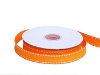 1.58cm Stitched Grosgrain - Orange