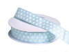 2.22cm Polka Dot Ribbon-Blue