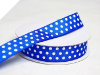 2.22cm Polka Dot Ribbon-Royal