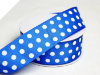 3.81 cm Polka Dot Ribbon-Royal
