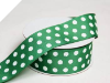 3.81 cm Polka Dot Ribbon-Hunter