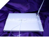 Elegance Guest Book & Pen - White