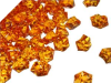 Acrylic Ice - Orange - 300pcs
