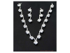 Crystal and Rhinestone Necklace & Earring Set