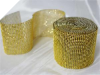 Diamond Jewel Wrap - Gold - 9.14m Roll