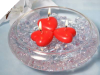 Heart Floating-Red 6pc