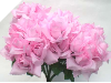 Silk Open Rose - Pink 1-bunch