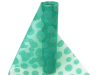 Organza Groovy Dots Roll 30.48cm x 9.14m - Turquoise