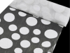 Organza Groovy Dots Roll 30.48cm x 9.14m - White