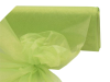 137.16cm x 36.5m Organza Fabric Bolt - Apple Green